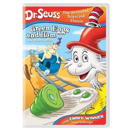 Amazon.com: Dr. Seuss - Green Eggs and Ham and Other Favorites (Grinch ...