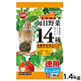 マルカン 毎日野菜14種 シニア お徳用 1.4kg