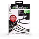 Dotz Home Entertainment Cord Identifier Kit for Cord and Cable Management (DCI131HEK-C)