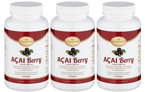 SPAR-PACK-3x-ACAI-Berry-48000-mg-Original-Hchste-Dosierung-360-Kapseln-1596Dose-Fettverbrennung-Dit-Anti-Aging-allgemeines-Wohlbefinden-made-in-Germany-die-Dit-der-Hollywoodstars-bekannt-durch-Pro7-TV