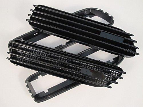 (4) Ersatz Schwarz glänzend Seite Grill Gitter Fender Belüftungsöffnungen für BMW E46M301-06