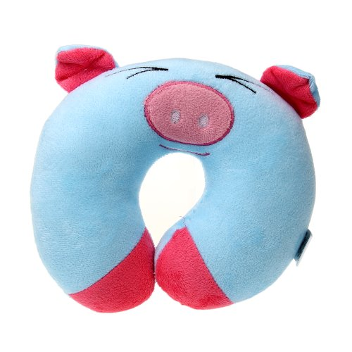 Baby Neck Rest Headrest Cushion U Pillow Support Plush Flight Travel Sleep front-8500