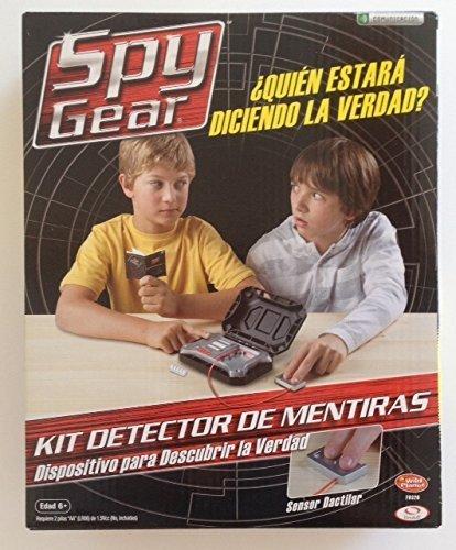 Spy Gear Lie Detector Kit (Spanish Edition) (Spy Gear Kit Lie compare prices)