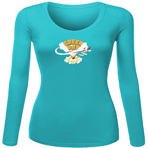 Classic Green Day Logo For Ladies Womens Long Sleeves Outlet