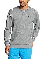 Nike Sudadera Range Sweater Crew (Gris / Negro)