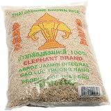 Three elephant brand brown jasmine rice 5lbs
