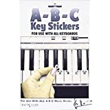 ABC Keyboard Stickers by Hal Leonard Corporation