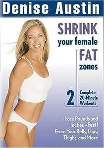Denise Austin: Shrink Your Female Fat Zones [Import USA Zone 1]