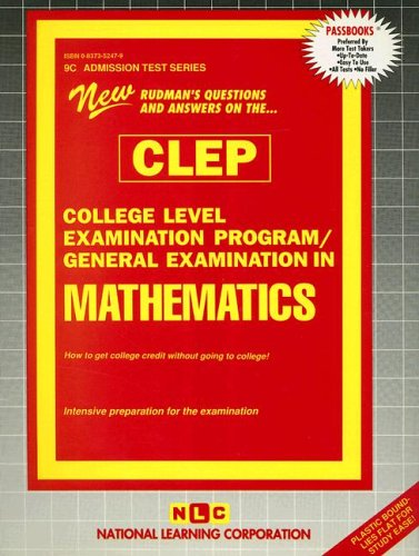CLEP College Mathematics (College Level Examination Program)
