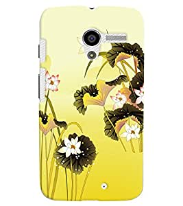 GADGET LOOKS PRINTED BACK COVER FOR Motorola Moto X MULTICOLOR