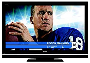 Sony BRAVIA V-Series KDL-46V5100 46-Inch 1080p 120Hz LCD HDTV, Black (2009 Model)