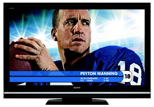 Sony KDL-52V5100 is one of the Best 50- to 52-Inch HDTVs for Watching Sports or Playing Video Games