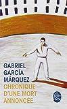 Chronique d'une mort annoncée (2253043974) by Marquez Gabriel Garcia