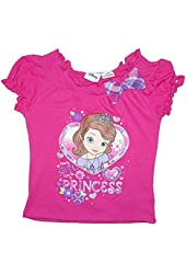 Disney Sofia the First Every GIRL Can Be A PRINCESS Baby Girls Tee T-Shirt Top