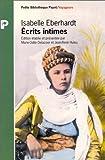 Ecrits intimes par Eberhardt