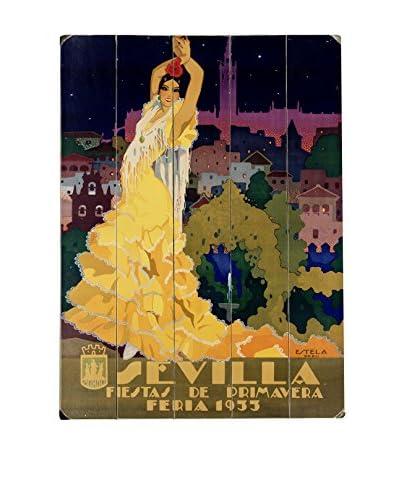 Artehouse 1933 Sevilla Fiesta Wood Wall Décor