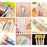15pcs Cartoon School Kids Kawaii Korean Mechanical Pencil with Lead Refill set (Color: Mechanical Pencil set, Tamaño: small)