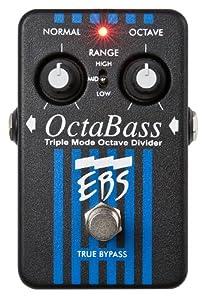 EBS OctaBass Tripple Mode Bass Octave Divider