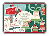 Cavallini Christmas Vintage Mailing Sets, 24 Assorted Cards with Envelopes