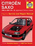 Citroen Saxo Service and Repair Manual: 1996 to 2001 (Haynes Service and Repair Manuals) by Spencer Drayton (1-Apr-2001) Hardcover