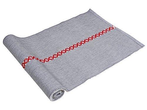 Store-Indya-100-Baumwolle-Set-von-4-Reversible-gewelltes-Entwickelt-Tischlaufer-Tischsets-Kuche-Speise-Zubehor