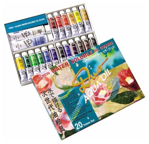 holbein-aqua-oil-color-duo-20-color-set-japan-import