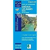 Greoux Les Bains/Basses Gorges Du Verdon GPS