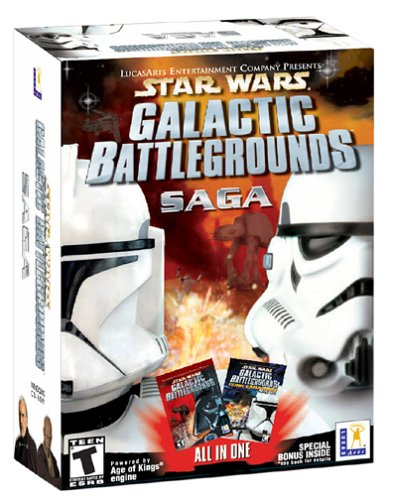 Star Wars Galactic Battlegrounds Saga - PC