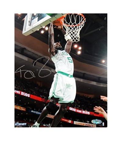 Steiner Sports Memorabilia Kevin Garnett Signed Celtics Rebound Photo