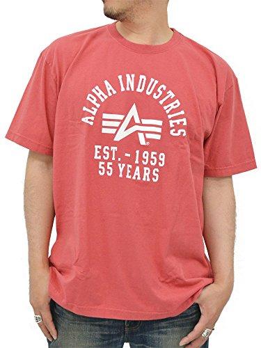 (アルファ インダストリーズ) ALPHA INDUSTRIES INC 大きいサイズ 半袖 Tシャツ メンズ 4color