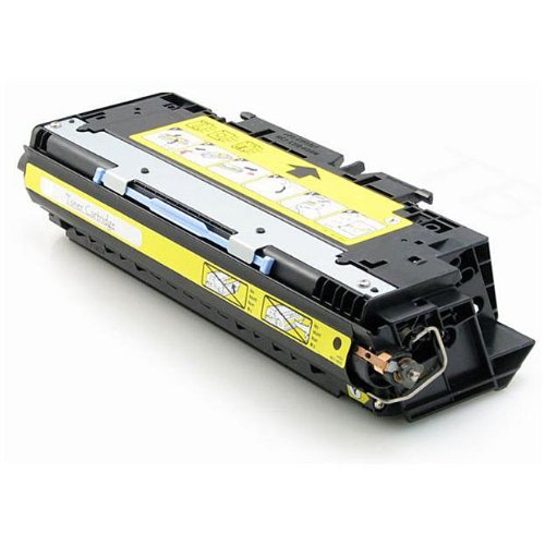 MTI © Q2672A Compatible Yellow Laser Toner Cartridge for Hewlett Packard (HP) Color LaserJet 3500, 3550 Series (078742062464)