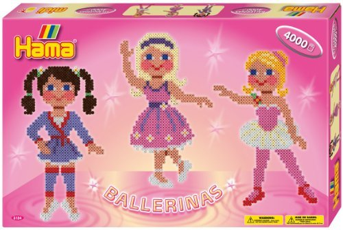 Create Fun And Colorful Designs With Hama Fuse Beads - Hama / Ballerinas Fuse Beads Gift Set