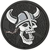 Maxpedition Viking Skull Patch, SWAT (Color: SWAT, Tamaño: Size: 2.4