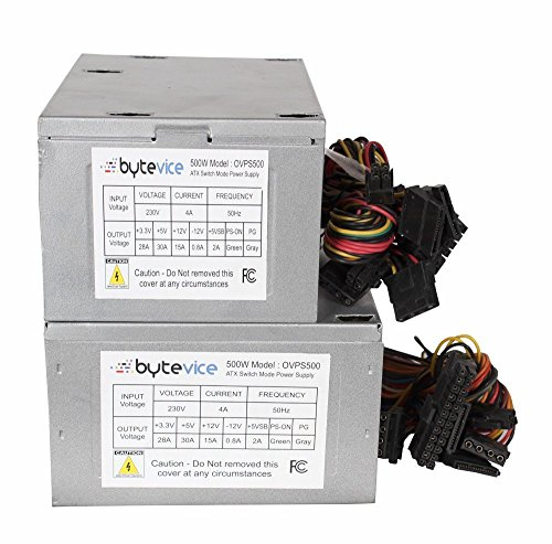 64% OFF on Bytevice OVPS-500 Computer Power Supply 500W SMPS (Small ...