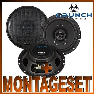 Crunch DSX 62 Lautsprecher für Fiat Bravo ab 2007 Türen vorne, Türen hinten von Crunch + Zubehörhersteller auf Reifen Onlineshop