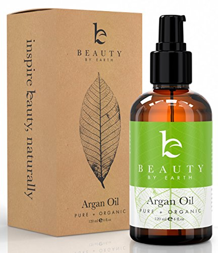 Beauty by Earth USDA Organic Moroccan Oil, 4oz (Oil Dispensing Comb compare prices)