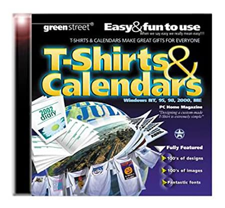 T-Shirts & Calendars (Jewel Case)