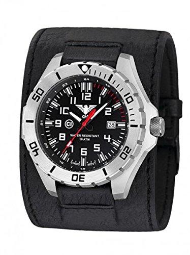 KHS Tactical orologio uomo Landleader Steel KHS.LANS.LK