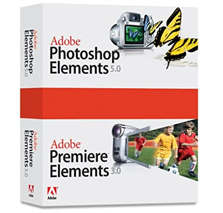 Adobe Photoshop Elements 5.0 Premiere Elements 3.0 Bundle [OLDER VERSION]