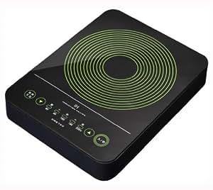 DRETEC コンパクトフラットIH調理器 ブラック DI-211BK