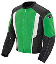 TALL XXXL 3X Black Joe Rocket Phoenix 5.0 Mesh Motorcycle Jacket
