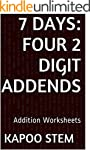 7 Addition Worksheets with Four 2-Dig...