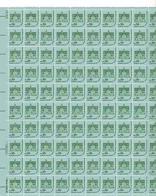 American Schools Sheet of 100 x 30 Cent US Postage Stamps NEW Scot 1606