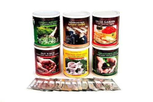 Emergency Garden (All 6 cans of Preparedness Seeds)