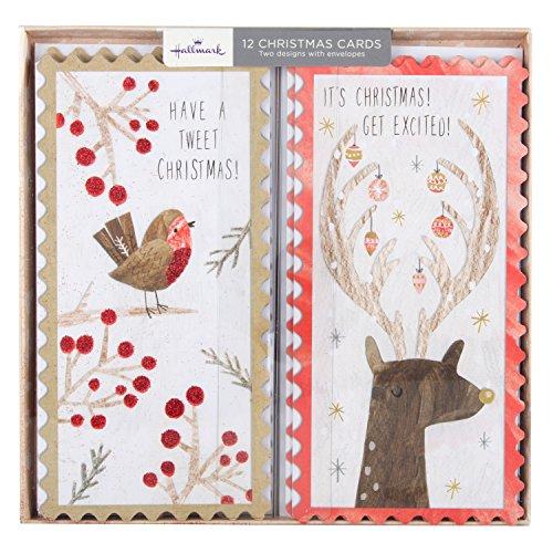hallmark-tarjeta-de-navidad-te-encantara-12-tarjetas-2-disenos