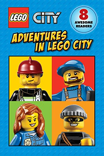 LEGO-City-Adventures-in-LEGO-City-Reader-Boxed-Set