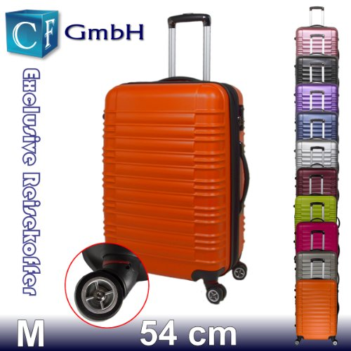 LG2088 Orangen Koffer Reisekoffer Koffer Trolley