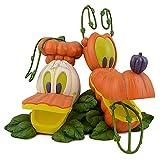 Disney figure Donald u0026 Pluto Jack O Lantern 'Donald and Pluto Jack O'Lantern' Disney