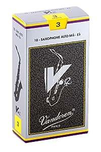 バンドーレン アルトサクソフォンリード V.12 硬さ:3 (10枚入り)
