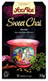 Yogi Tea Sweet Chai 15 Organic Teabags (Pack of 8, Total 120 Teabags)